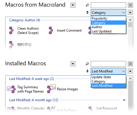 Download Macros Window group by