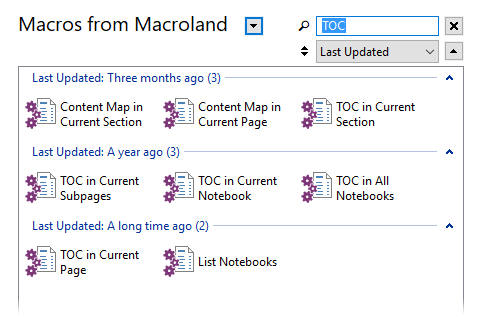 Download Macros Window search
